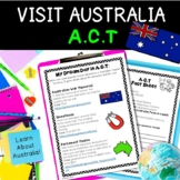 Australia Geography Activities Project: Australian Capital Territory, ACT