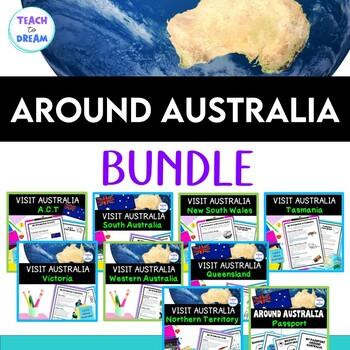 #CrazyBundleDeals Australian Geography: Australian States and Territories BUNDLE