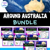 Australian Geography: Australian States and Territories BUNDLE, HASS