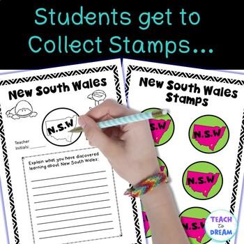 Australian Geography: Australian States and Territories PASSPORT