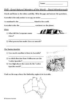 Australia - Geography - Great Natural Wonders of the World - David Attenborough