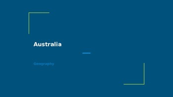 Australia: Geography, History, Economics, and Civics