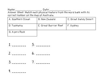 Australia Geography Mini Bundle