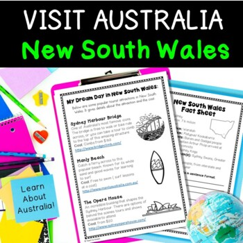 Australia Geography: New South Wales