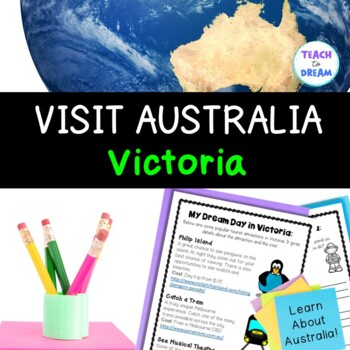Australian Geography Tasks and Activities: Victoria
