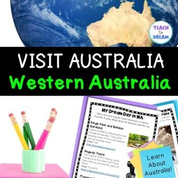 Australia Geography Tasks and Activities: Western Australia