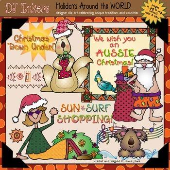 Australia: Holidays Around the World Clip Art