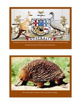 Australia Inforamation Cards