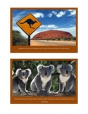 Australia Inforamation Cards