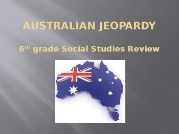 """Australia """"Jeopardy"""" game"""