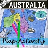 Australia Map Activity (Print and Digital)
