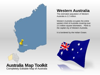 Australia Map PowerPoint Toolkit