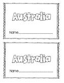 Australia Mini Book