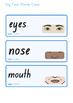 Australia - My Face Word Cards