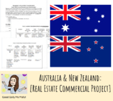 Australia & New Zealand: Real Estate Advertisement and Commercial Project
