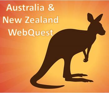 Australia & New Zealand WebQuest
