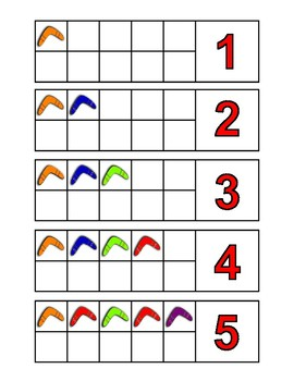Australia Number / Counting Activities