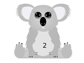 Australia Numbered Koalas