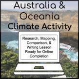 Australia & Oceania Climates Inquiry Activity for 1:1 Goog