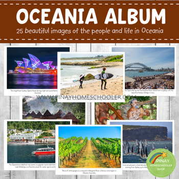 Australia/Oceania Geography Folder (Culture and Traditions)
