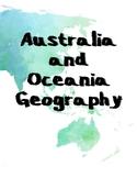 Australia / Oceania Geography Mini Unit