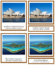 Australia / Oceania Landmarks: 3-Part Cards (color borders)