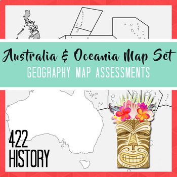 Australia & Oceania Map Set