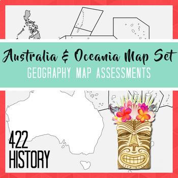 Australia & Oceania Map Set