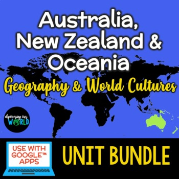 Australia, Oceania & New Zealand Unit Bundle