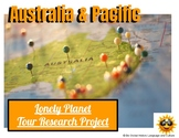 Australia & Pacific Travel Internet Research Project  - distance learning