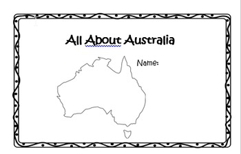 All About Australia Powerpoint and Student Booklet