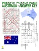 Australia Puzzle Page (Wordsearch and Criss-Cross)