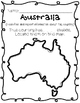 Australia {Research / Creative Writing / Word Work}