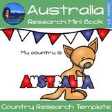 Australia - Research Mini Book