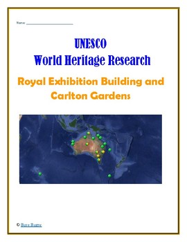 Australia: Royal Exhibition Building and Carlton Gardens Research Guide
