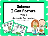 Australia Science I Can Posters - Year 2