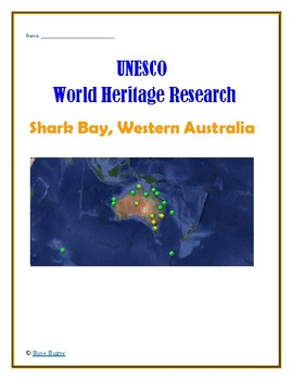 (Australia Geography) Australia: Shark Bay, Western Australia—Research Guide