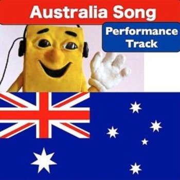 "Australia Song Performance Track mp3 from ""Geography Songs"" Troxel"