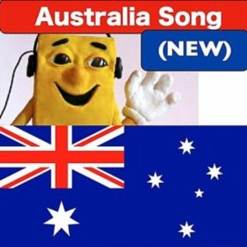 """Australia Song mp3 from """"Geography Songs"""" by Kathy Troxel (new version)"""