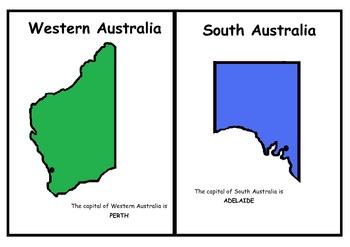Australia - States and Territories