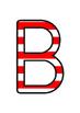 Australia - Stripey Red Display Lettering