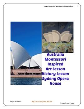 Australia Sydney Opera House History Art Montessori Pre-K to 5th Common Core