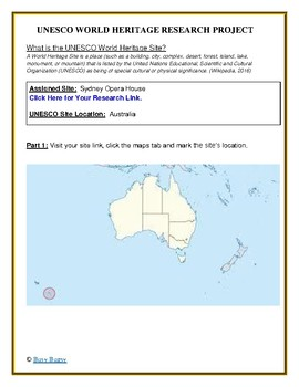 (Australia Geography) Australia: Sydney Opera House—Research Guide
