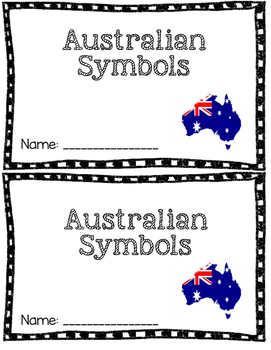 Australia Symbols Mini Book