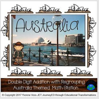 Australia Themed Addition Station