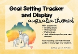 Australia Themed Goal Setting Tracker Display Reading Writing Maths