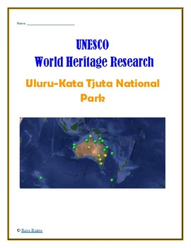 (Australia Geography) Australia: Uluru-Kata Tjuta National Park—Research Guide