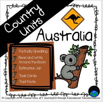 Second and Third Grade Australia Unit