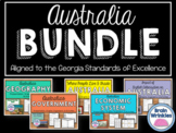 Australia Unit BUNDLE - Geography, History, Government, Economics, Etc.