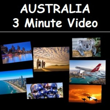 Australia Video- 3 minutes of songs and images of Australia